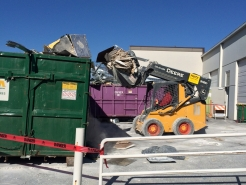 Demolition Waste Load Out Photo 2