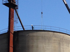 I-silo roofing 8-19
