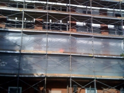 Wrapped Scaffolding